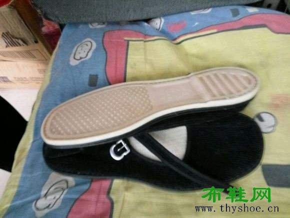 塑料底布鞋女式一带布鞋